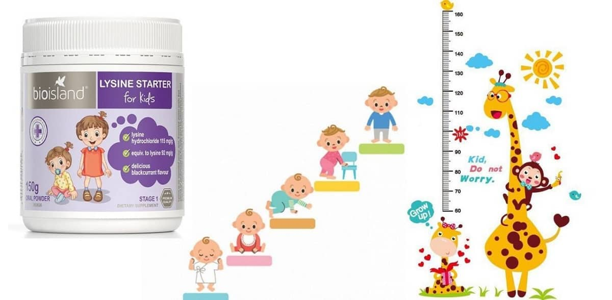bot Bio Island Lysine Starter for Kids